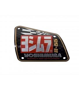 Placchetta in alluminio Yoshimura per R-55
