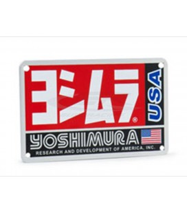 Placchetta in alluminio Yoshimura  RS-3