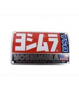 Placchetta in alluminio Yoshimura  TRC/TRS