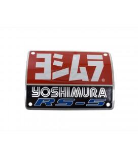 Placchetta in alluminio Yoshimura RS-5