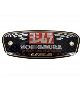 Placchetta in alluminio Yoshimura USA R-77 / R-77D