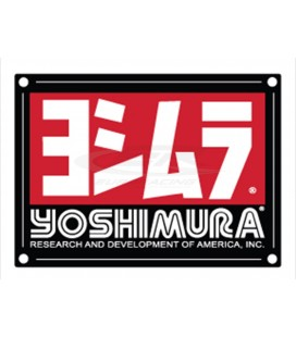 YOSHIMURA MUFFLER NAME BADGE RS4/RS4D