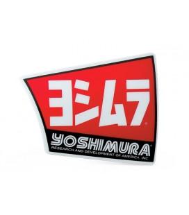 Adesivo per fondello in carbonio scarico Yoshimura RS4