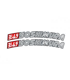 Stickers Yoshimura USA per parafango off-road