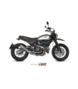 Titanium Mivv GP exhaust for Ducati Scrambler 800 2015-2016