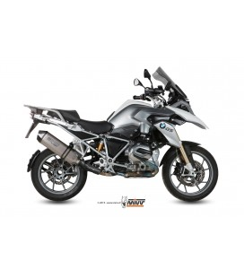 Mivv Speed Edge titanium exhaust with carbon cup for BMW R1200 GS 2013-2017