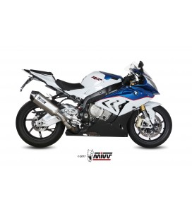 Scarico Mivv Speed Edge inox per BMW S 1000RR 2015-2016
