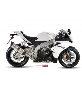 Mivv exhaust Stainless steel sound for Aprilia RSV4/Tuono V4 2009-2016