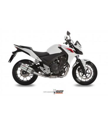 Scarico Mivv Suono inox per Honda CB 500 X/ CB 500 F 2013-2015
