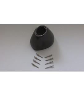 Fondello in carbonio per scarico Yoshimura RS-4