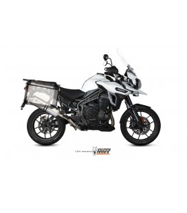 Scarico Mivv Speed Edge inox per Triumph Tiger Explorer 1200 2016-