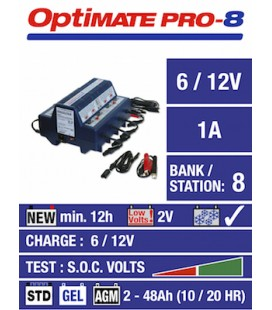 TecMate battery chargers Optimate PRO-8