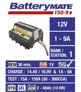 TecMate battery chargers Batterymate 150-9