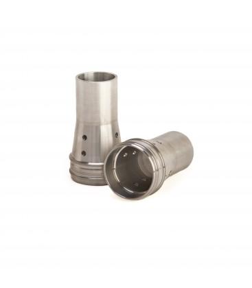 Sede a cilindro per molla forcella con fori KYB 48 - K-Tech