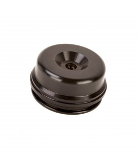 Shock Absorber Reservoir End Cap Extended -inc Valve (Showa 50mm x 9mm) - K-Tech