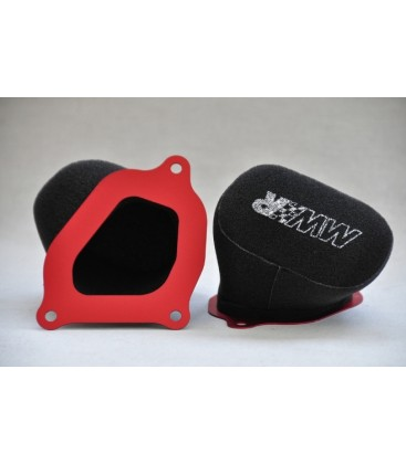 MWR performance air filter for MV Agusta F3 & Brutale 675 / 800 Rivale & Turismo Veloce 800 + EURO4 2PCS
