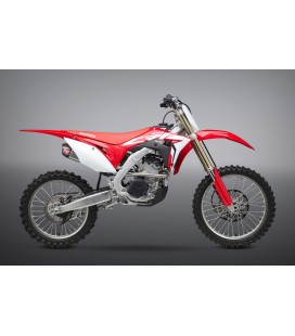 CRF250R 18-21/RX RS-9T STAINLESS FULL EXHAUST, W/ STAINLESS MUFFLERS