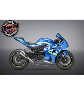 Scarico completo Yoshimura ALPHA T RACE in titanio per Suzuki GSX-R1000/R 2017-2020