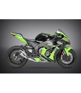 ZX-10R/RR 16-20 RACE ALPHA T STAINLESS 3/4 EXHAUST, W/ STAINLESS MUFFLER