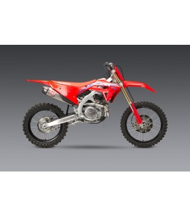 CRF450R 2021 RS-12 STAINLESS FULL EXHAUST, W/ STAINLESS MUFFLERS