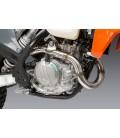 KTM 500 EXC-F 2020-21 RS-12 STAINLESS FULL EXHAUST, W/ ALUMINUM MUFFLER