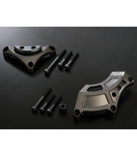 Yoshimura engine case saver kit PRO SHIELD / Starter gear - Clutch cover for Suzuki GSX-S 1000 /F 2015-2020 / Katana 2019-2021