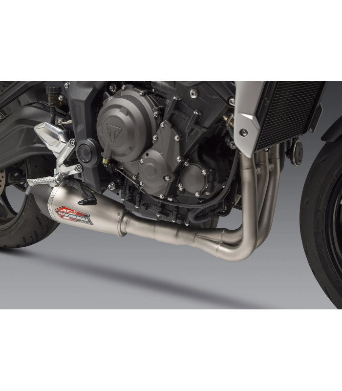 TRIDENT 2021 Race AT2 Stainless Full Exhaust, w/ Stainless