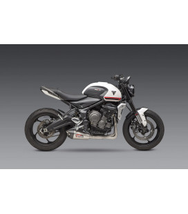 TRIDENT 2021 Race AT2 Stainless Full Exhaust, w/ Stainless Muffler