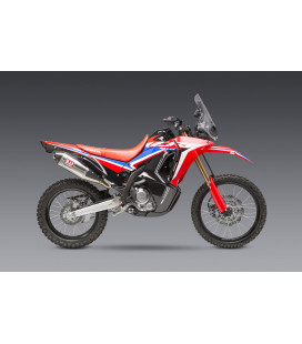 CRF300L/RALLY 2021 RACE RS-4 STAINLESS FULL EXHAUST, W/ STAINLESS MUFFLER
