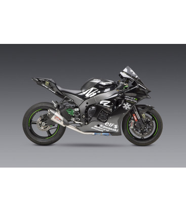 ZX-10R/RR 2021 RACE AT2 STAINLESS 3/4 EXHAUST, W/ STAINLESS MUFFLER