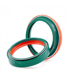 SKF DUAL COMPOUND OIL AND DUST FORK SEAL KIT SHOWA 49MM