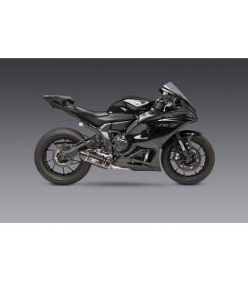Scarico completo Yoshimura R77 race in acciaio per Yamaha YZF R7 2021 / XSR700 / MT-07 2015-2021