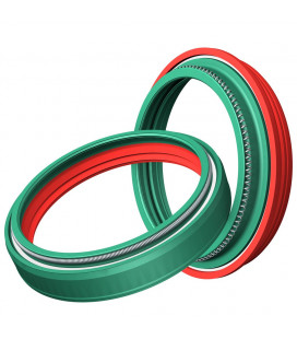 SKF DUAL COMPOUND OIL AND DUST FORK SEAL KIT WP 43MM