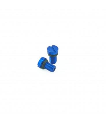 Vite blu di spurgo dell'aria K-Tech per forcella anteriore KYB / SHOWA