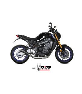 Scarico Mivv X-M1 BLACK inox nero Euro5 per Yamaha MT-09 2021