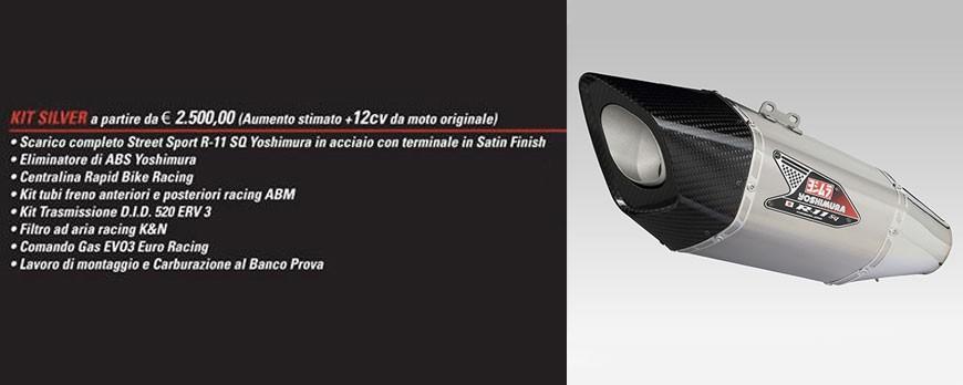 KIT SILVER, il kit base per la tua GSX-R 1000/R