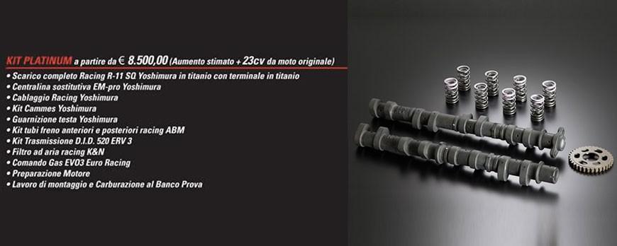 KIT PLATINUM, il top di gamma per la tua GSX-R 1000/R