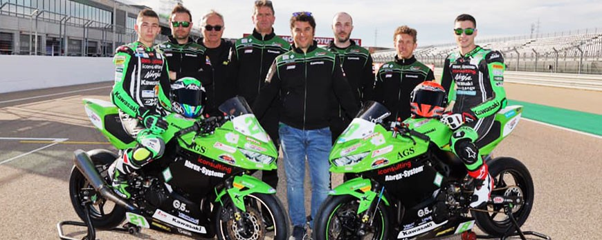 Euro Racing and Scuderia Maranga Racing from 21 to 23 June at the Misano circuit for the SBK race