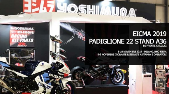 Where to find us at Eicma 2019