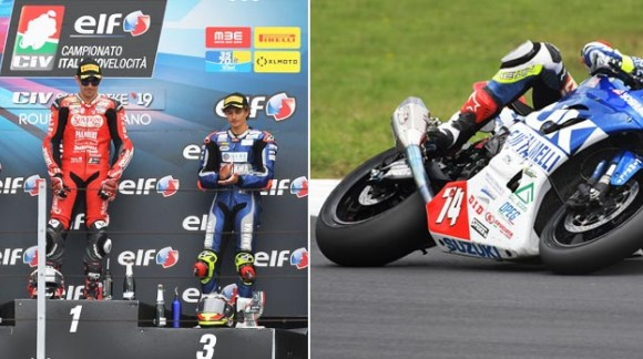 Eicma special Edition: Kevin Calia # 74 at Euro Racing and Yoshimura stand