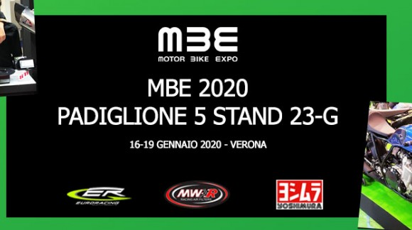 News 2020: Euro Racing (& MWR) at the MBE in Verona from 16 to 19 January