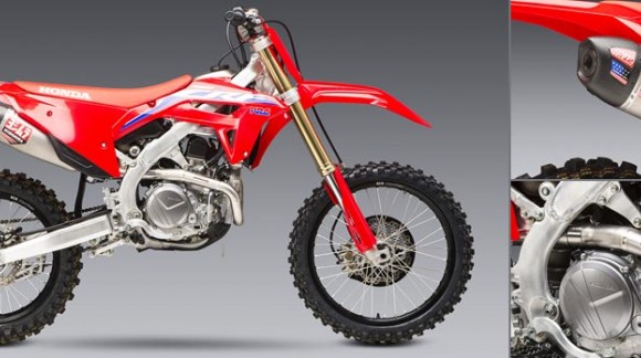 PREORDER THE NEW YOSHIMURA RS-12 STEEL / ALUMINUM FULL SYSTEM FOR HONDA CRF 450 R / RX 2021
