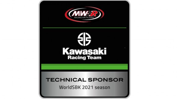 MWR sponsor for Kawasaki team in WSBK 2021