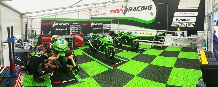 EURO RACING AND SMW Racing FOR WSBK IN MISANO