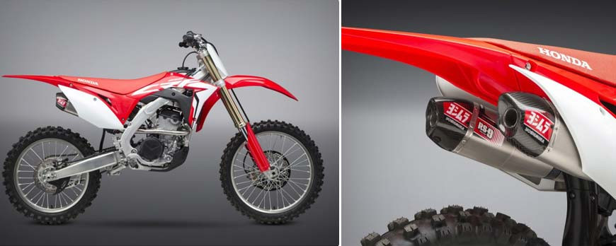 NEW 2021: RS-12 AND RS-9T FULL-SYSTEM FOR HONDA CRF 450 AND 250 2021